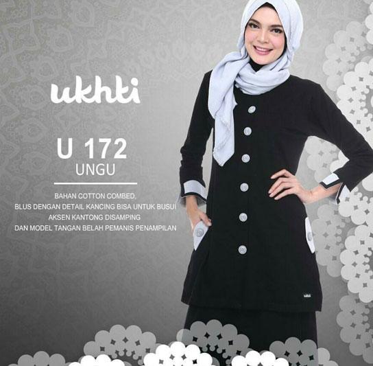 model baju wanita muslim untuk kerja