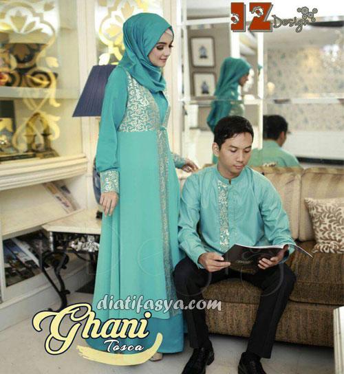 Model Baju Muslim Couple Terbaru 2017