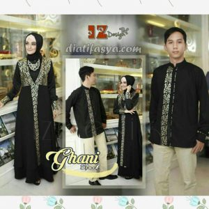 model baju muslim couple 2017