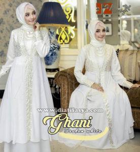 dress muslimah untuk pesta 2017
