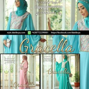 dress pesta muslimah 2017