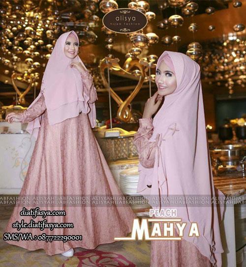 Gamis Syar I Mahya By Alisya Hijab Fashion