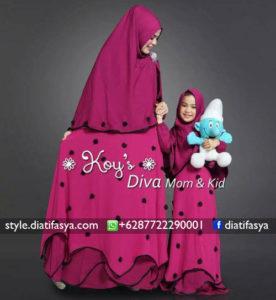 baju muslim anak perempuan model 2017