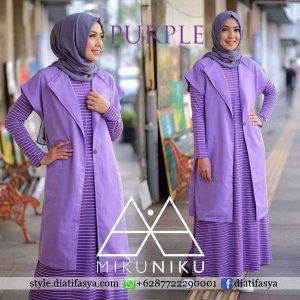 baju muslim casual terbaru 2017