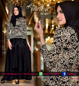 dress pesta terbaru 2017