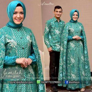 gamis batik model 2017