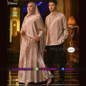 model dress pesta muslimah 2017