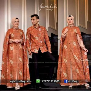 model gamis batik trend 2017