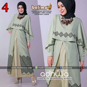 model tunik setelan