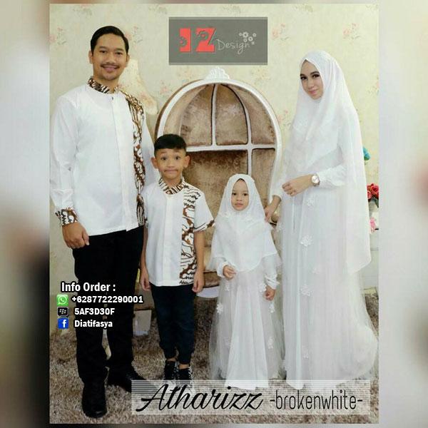 Baju Muslim Keluarga Terbaru 2017 Atharizz Couple By Izdesign
