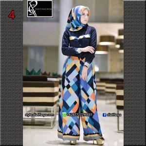 baju muslim modis terbaru 2017
