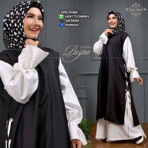 dress muslimah terbaru 2017