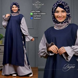gambar dress simple puspa by byuti hijab 2017