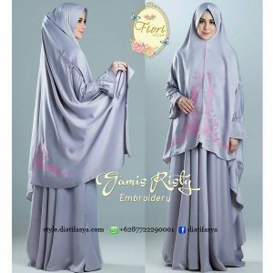 gamis risty fiori hijab 2017