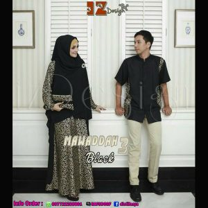 gamis syar'i couple model 2017