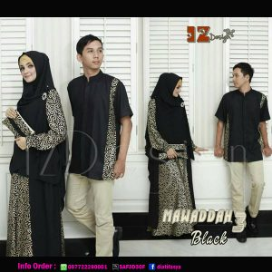 mawaddah 3 couple syari by iz design