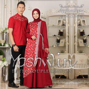 model batik muslim couple 2017
