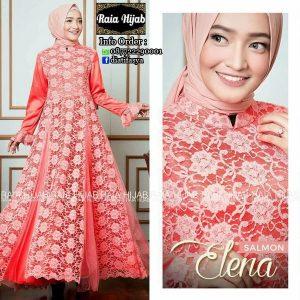 model dress elena by raia hijab