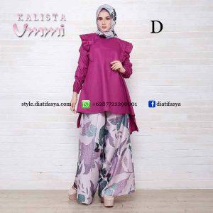 model setelan baju untuk hijaber terbaru 2017