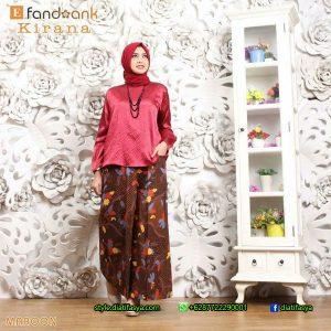 model setelan batik solo 2017