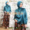 setelan baju muslim batik 2017