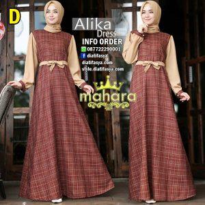 gambar model dress muslimah terbaru