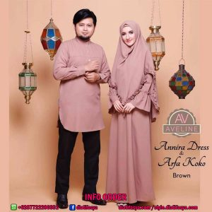 ANNIRA DRESS & ARFA KOKO by Aveline