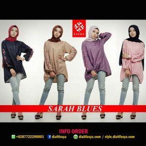 sarah blues by layra muslim branded online shop