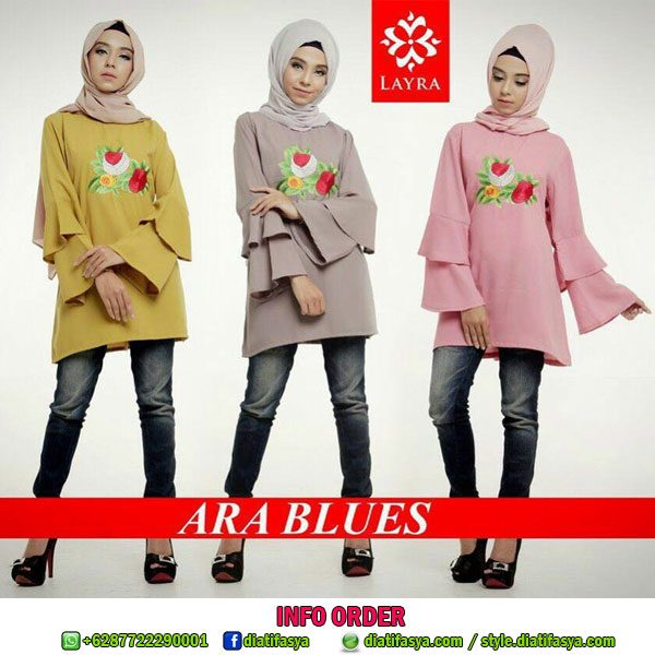 atasan muslim model blouse 2017 2018