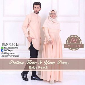 baju muslim couple branded
