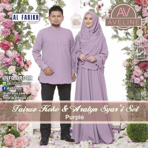 baju muslim couple 2018