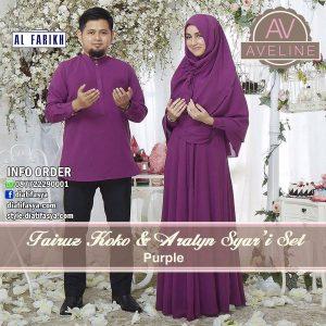 baju muslim couple syari