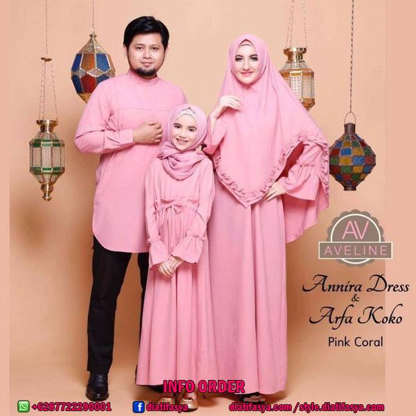 Baju Muslim Couple Syari Terbaru 2017 2018