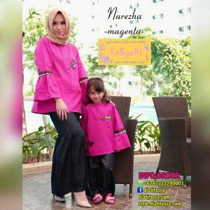 baju muslim ibu dan anak perempuan