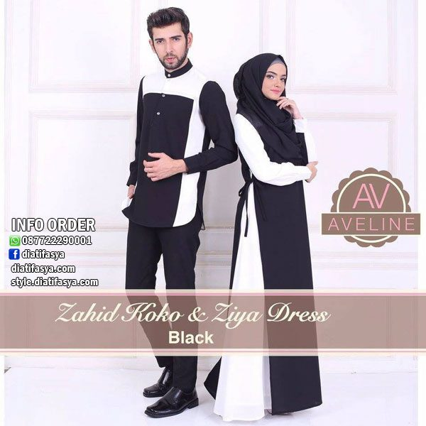 baju muslim couple simple