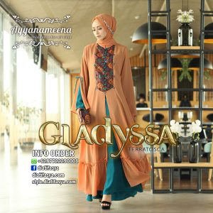dress hijab modern choco