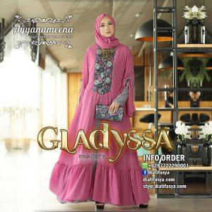 dress muslim kombinasi