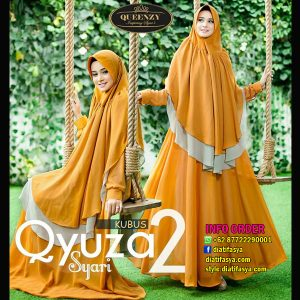 gamis qyuza by queenzy brand