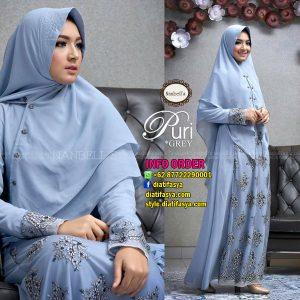 gamis syari puri by nanbells hijab onlin