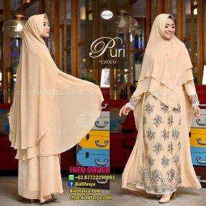gamis syari puri by nanbells hijab brand