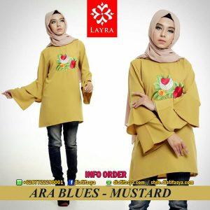 blus ara by layra muslim branded online shop