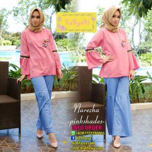 model baju hijaber simple