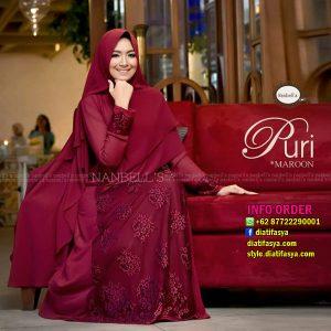 puri by nanbells hijab pesta