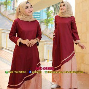 baju harian hijaber 2018